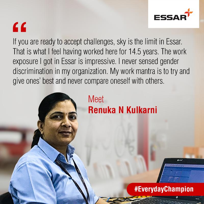 Everyday Champions meet Essar's Renuka Kulkarni | Creating Value