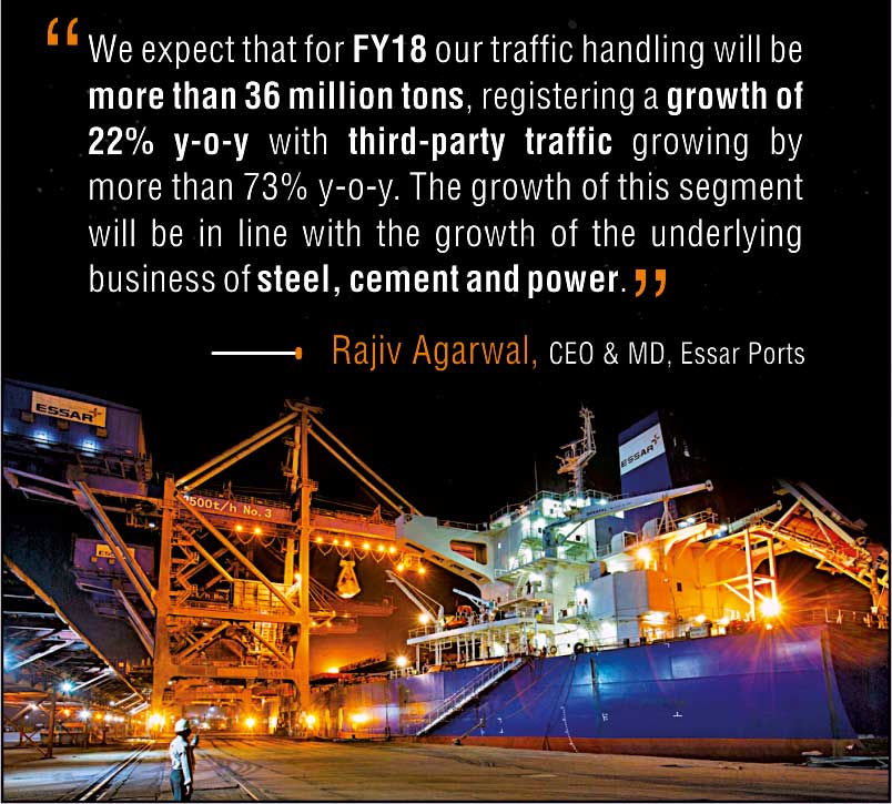 The Vision of Essar Ports