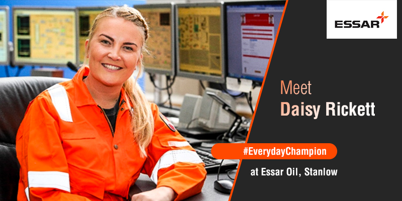 Daisy Rickett, Production Specialist, Essar Oil UK, Stanlow