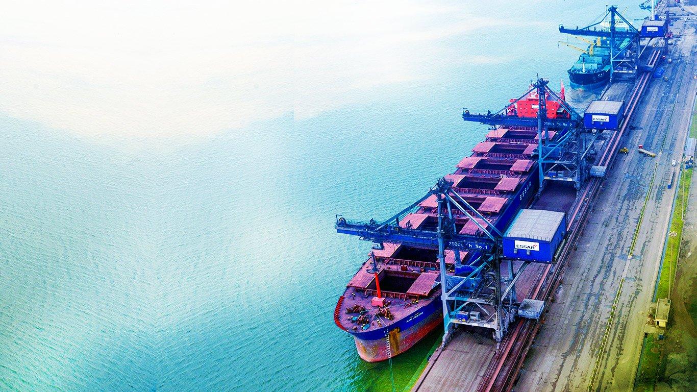 Essar Ports Hazira Facility