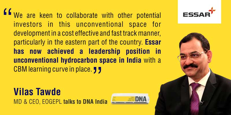Vilas Tawde, MD & CEO - EOGEPL talks to DNA India
