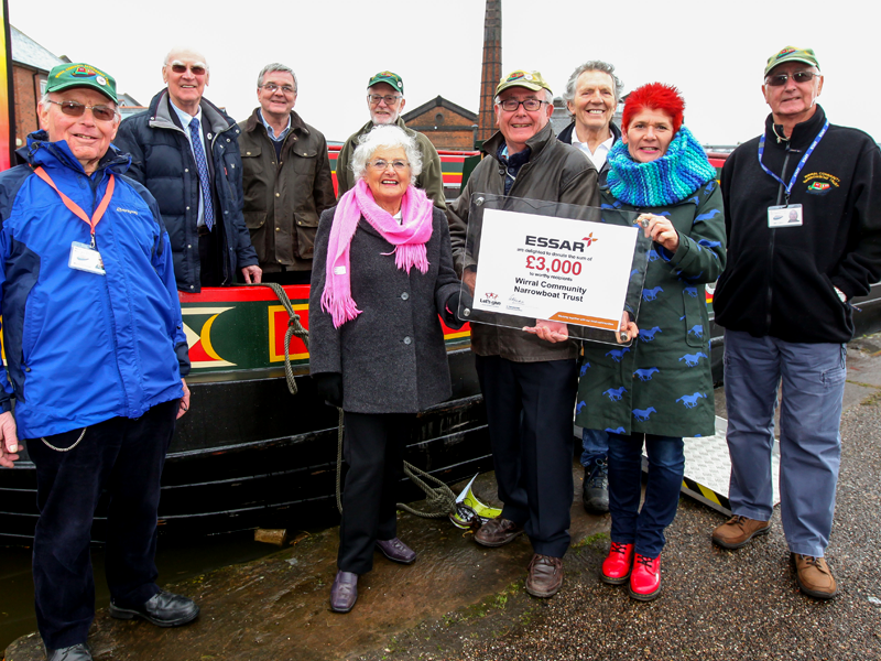 Essar-Lets-Give-programme-Charities-Wirral-Community-Narrowboat-Trust