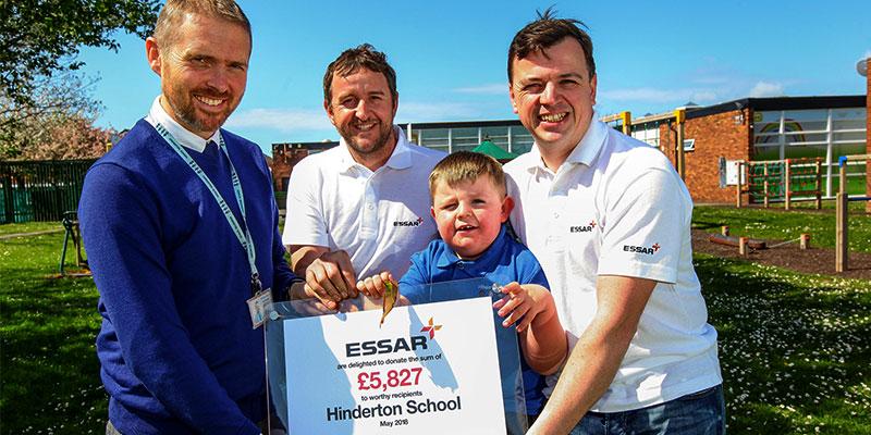 Essar Oil UK supports Hinderton School