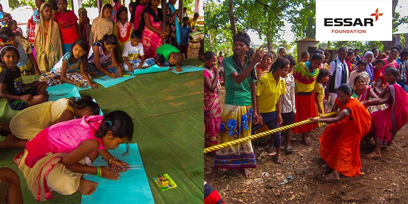 Essar Foundation organised rural sports tournament at Palnar Chhattisgarh