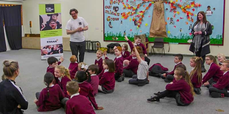 Action Transport Theatre and Essar Oil UK's partnership to boost the use of creative learning in schools