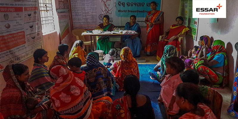 Essar Foundation celebrates world breastfeeding week