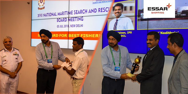Essar Shipping presents Essar Search & Rescue Award 2018