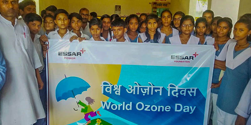 Essar Foundation observes World Ozone Day