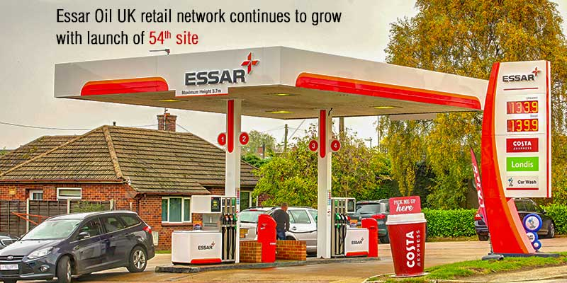 Essar Oil UK retail network continues to grow with launch of 54th site