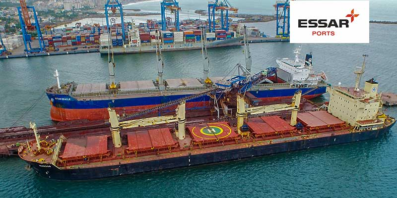 Essar Vizag Terminal commences cargo movement for NMDC and MMTC