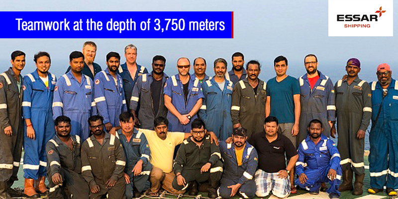 Essar Wildcat - Teamwork at the depth of 3,750 meters