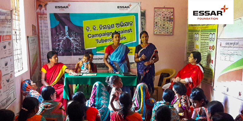 Essar Foundation organises Village-wide Tuberculosis Awareness Drives in Keonjhar