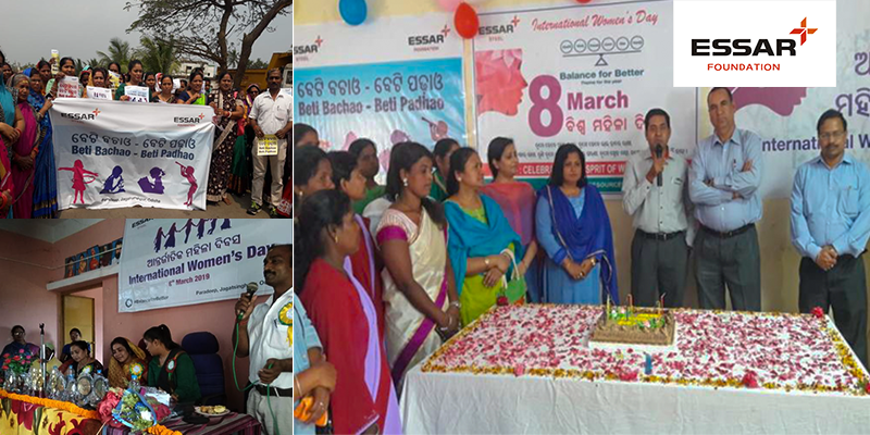 Essar Foundation Odisha celebrated the WOMEN'S DAY